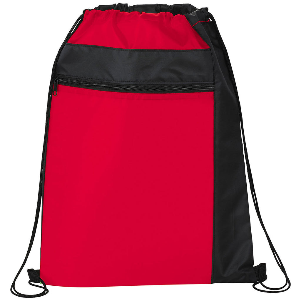 Bullet Red Color Pop Drawstring Bag