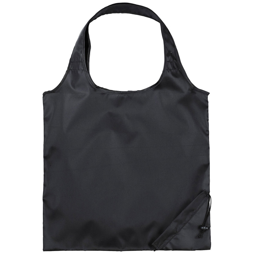 Bullet Black Bungalow Foldaway Shopper Tote
