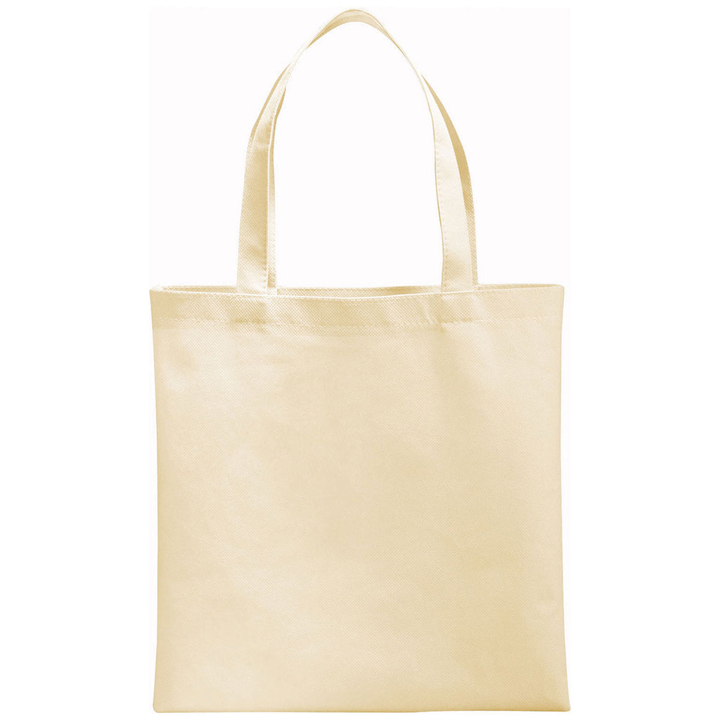 Bullet Cream Small Zeus Non-Woven Convention Tote