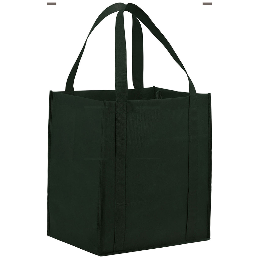 Bullet Hunter Green Hercules Non-Woven Grocery Tote