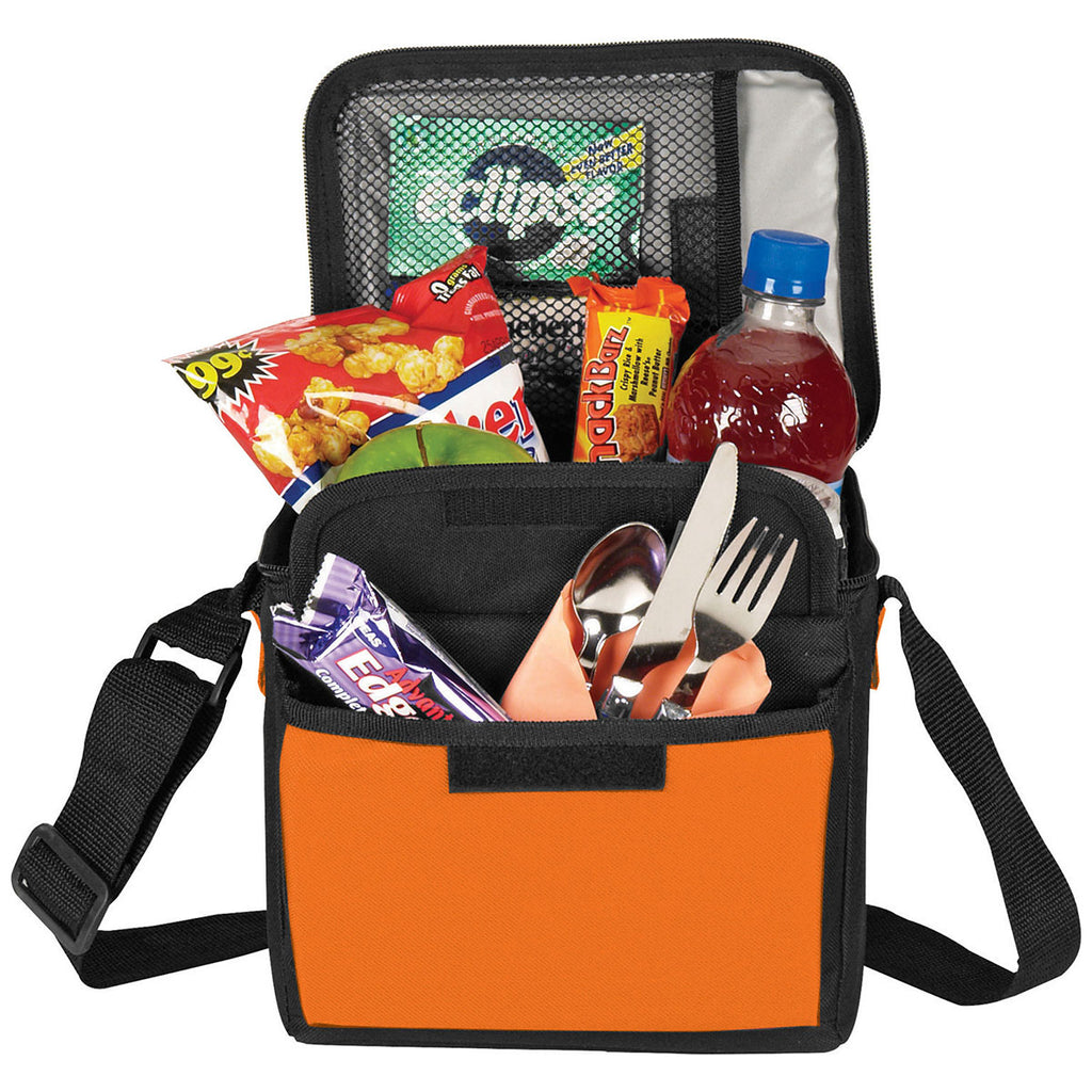 Bullet Orange 6-Can Lunch Cooler