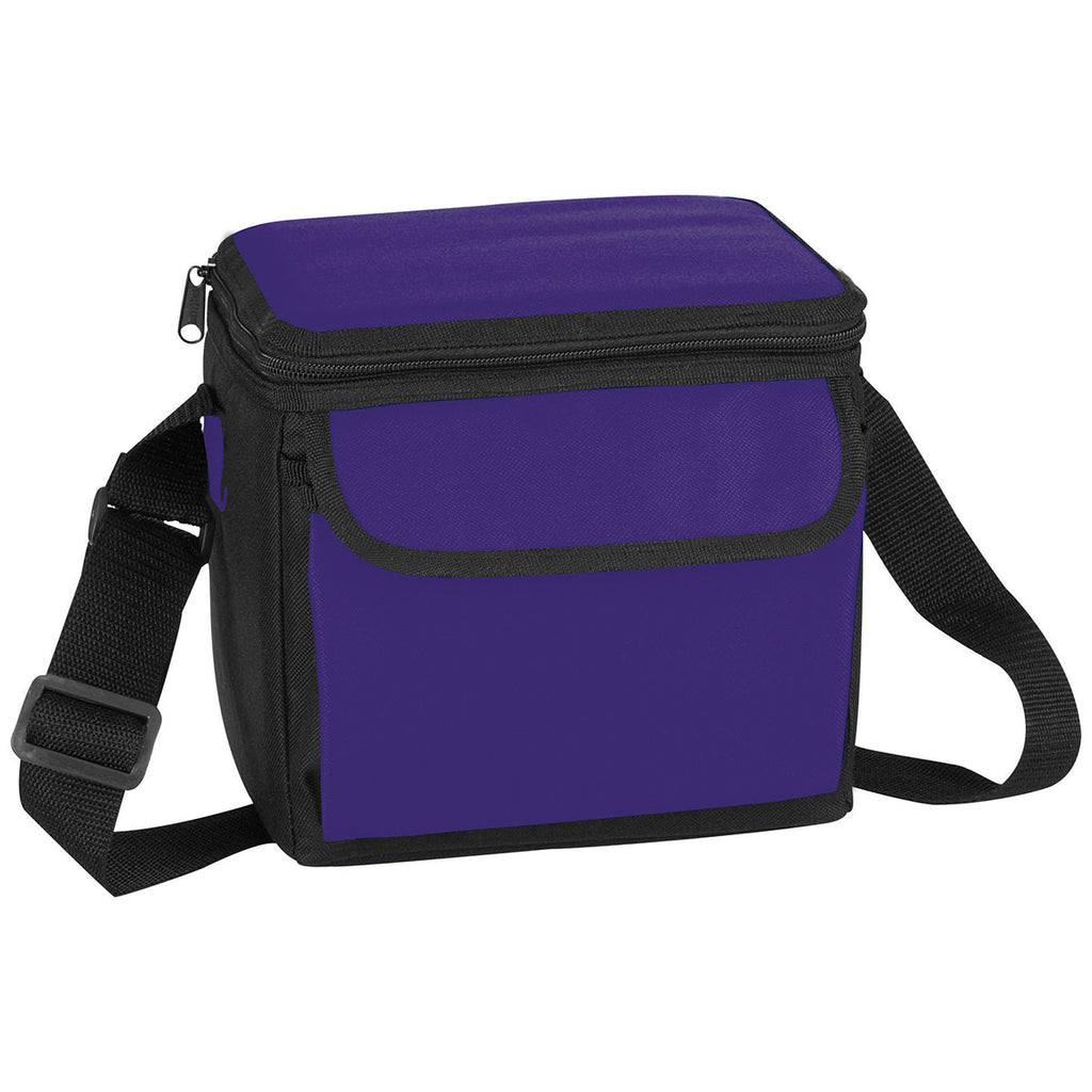 Bullet Purple 6-Can Lunch Cooler