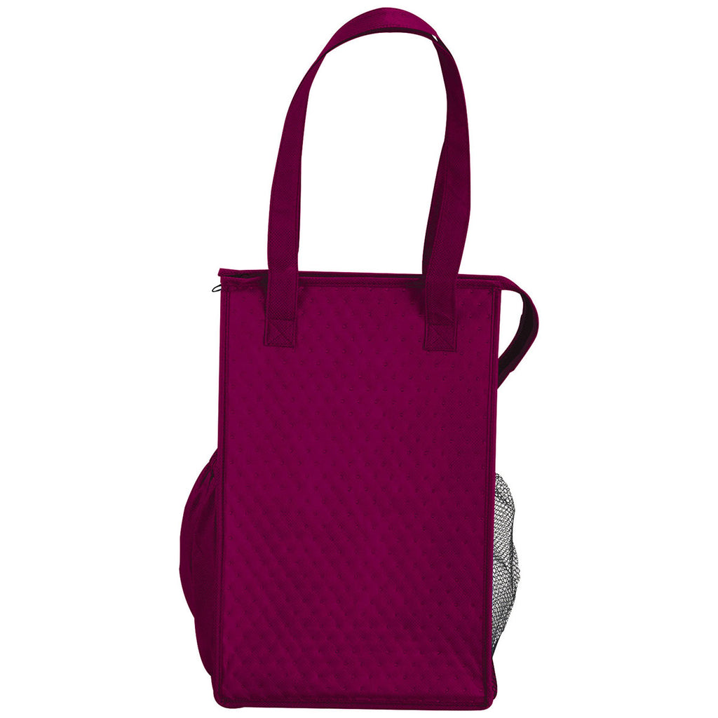 Bullet Burgundy Big Time 14-Can Non-Woven Lunch Cooler