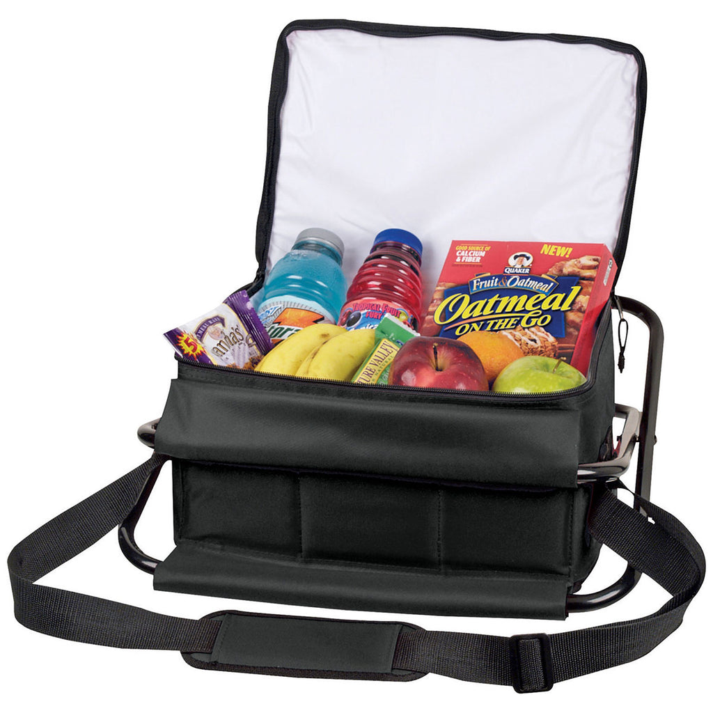 Bullet Black Deluxe Insulated 12-Can Cooler Chair