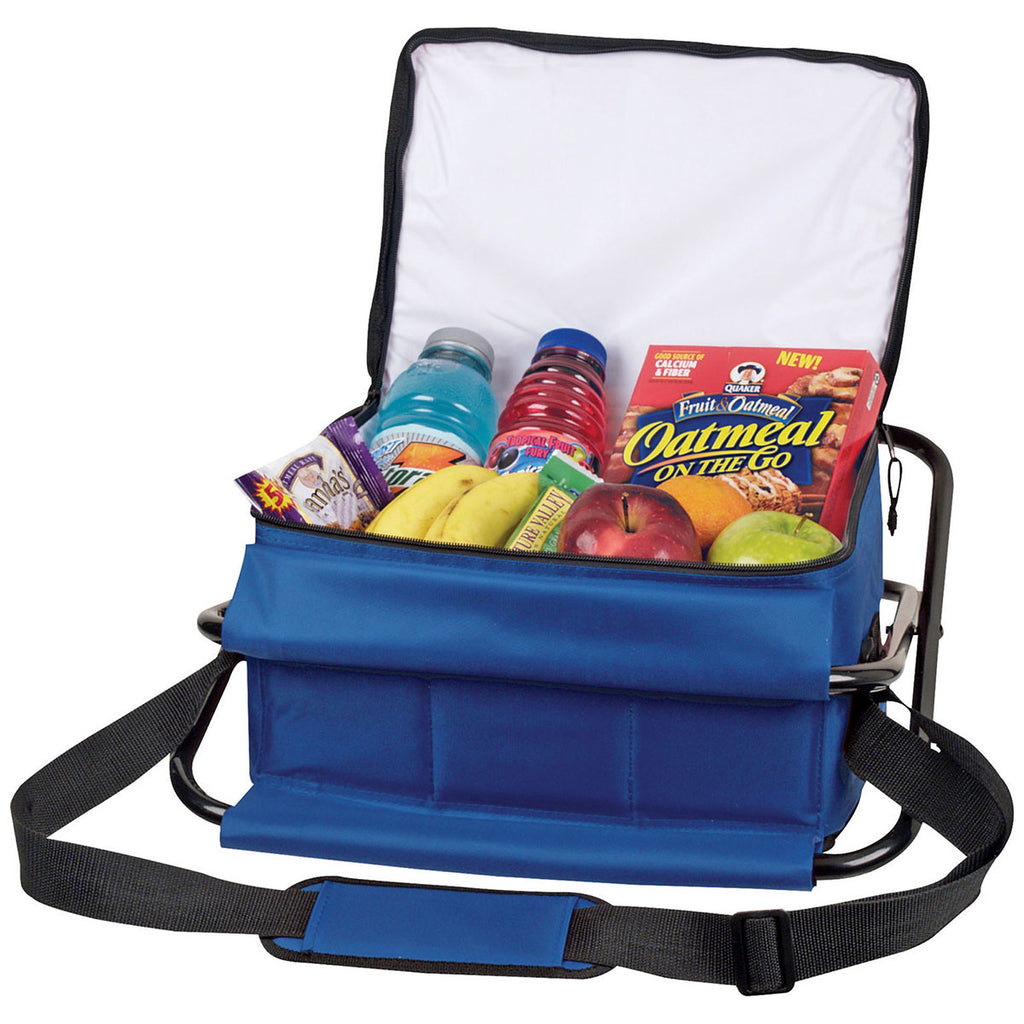 Bullet Blue Deluxe Insulated 12-Can Cooler Chair
