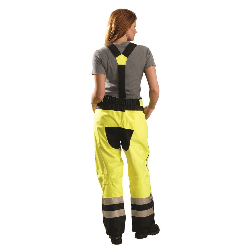 OccuNomix Women's Yellow Speed Collection Premium Breathable Rain Pants