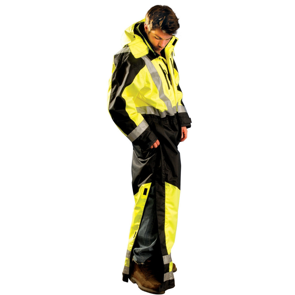 OccuNomix Men's Yellow Speed Collection Premium Cold Weather Coverall