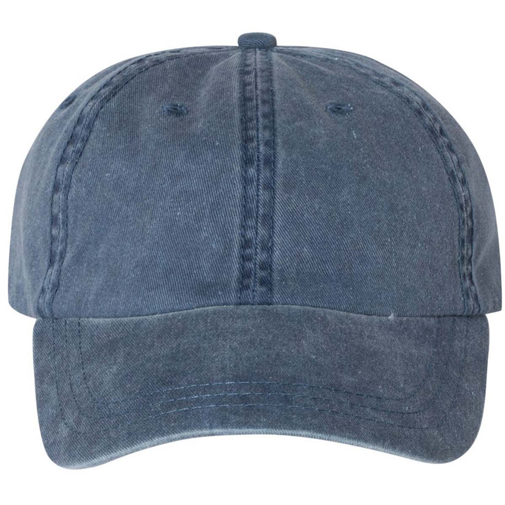 Sportsman Navy Pigment Dyed Cap