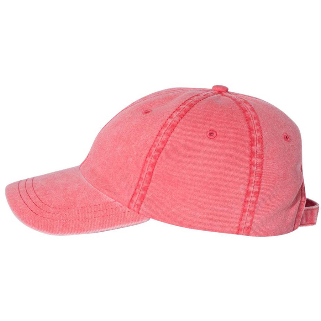Sportsman Red Pigment Dyed Cap