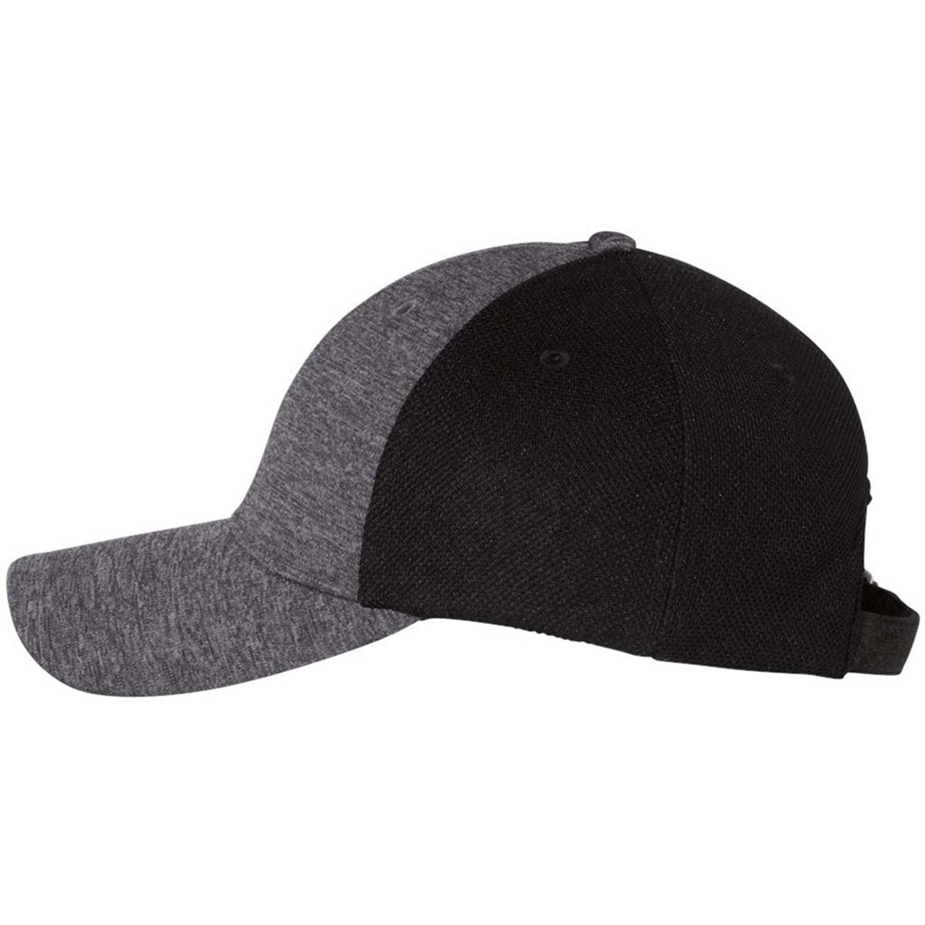 Sportsman Graphite/Black Shadow Tech Marled Mesh Back Cap