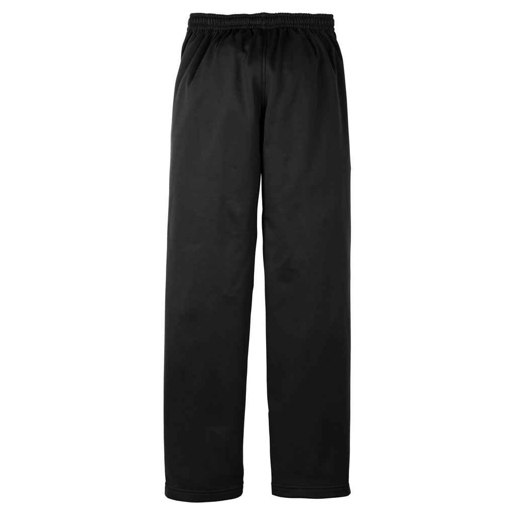 Sport-Tek Men's Black Sport-Wick Fleece Pant