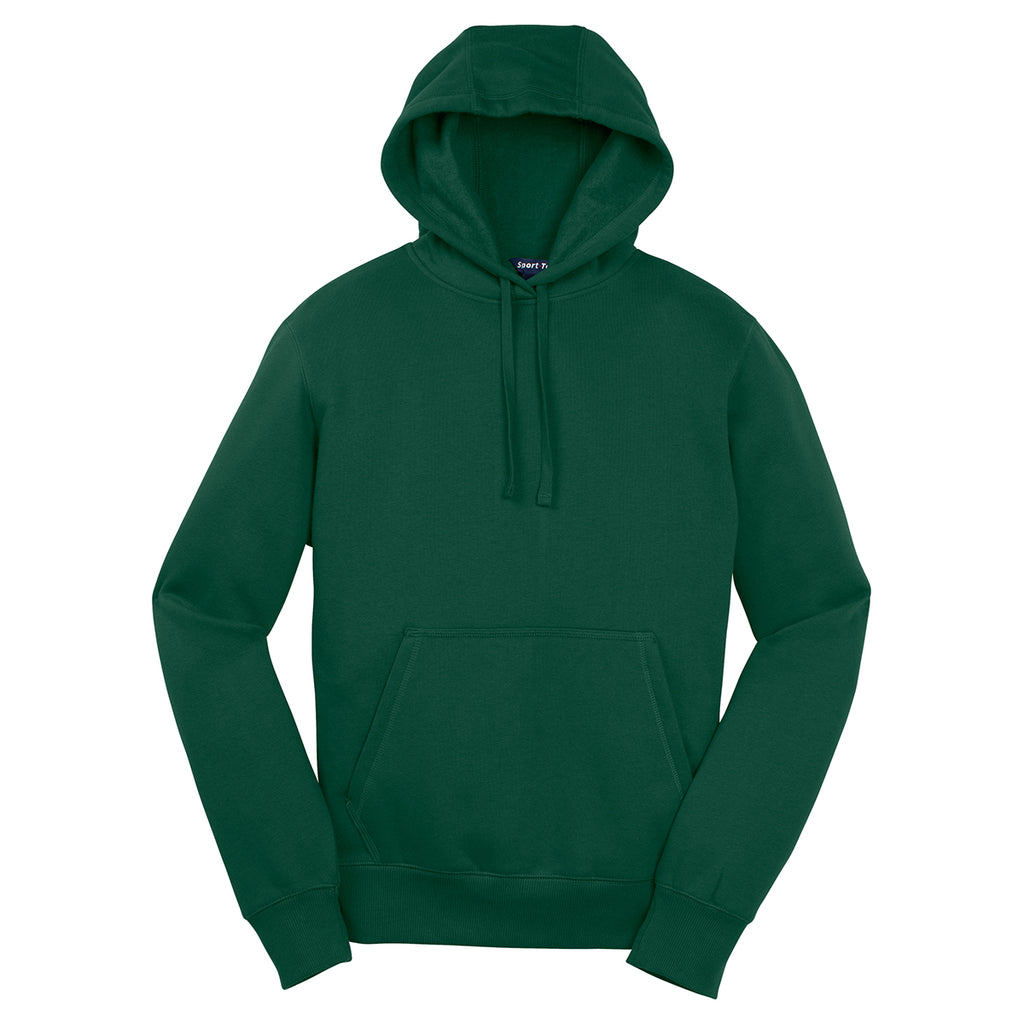 002a09bc940 Sport-Tek Men s Forest Green Pullover Hooded Sweatshirt. ADD YOUR LOGO