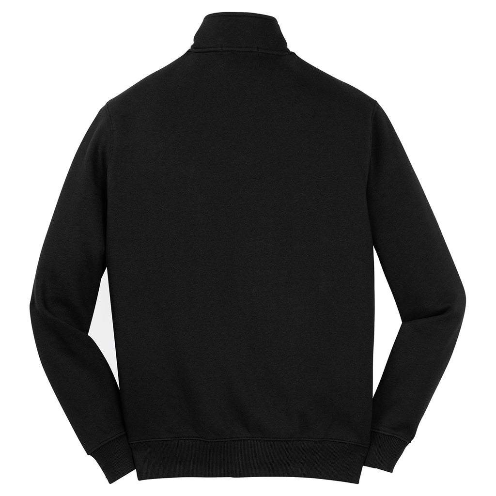 Sport-Tek Men's Black Full-Zip Sweatshirt