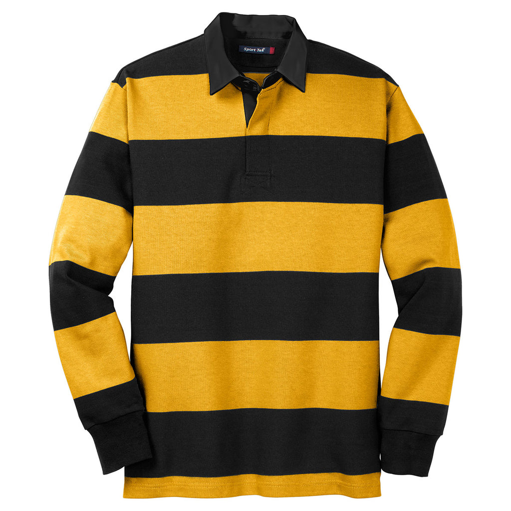 Sport Tek Men S Black Gold Long Sleeve Rugby Polo Everything about major sports including football, cricket, tennis, motogp, rugby and american sports. sport tek men s black gold long sleeve rugby polo