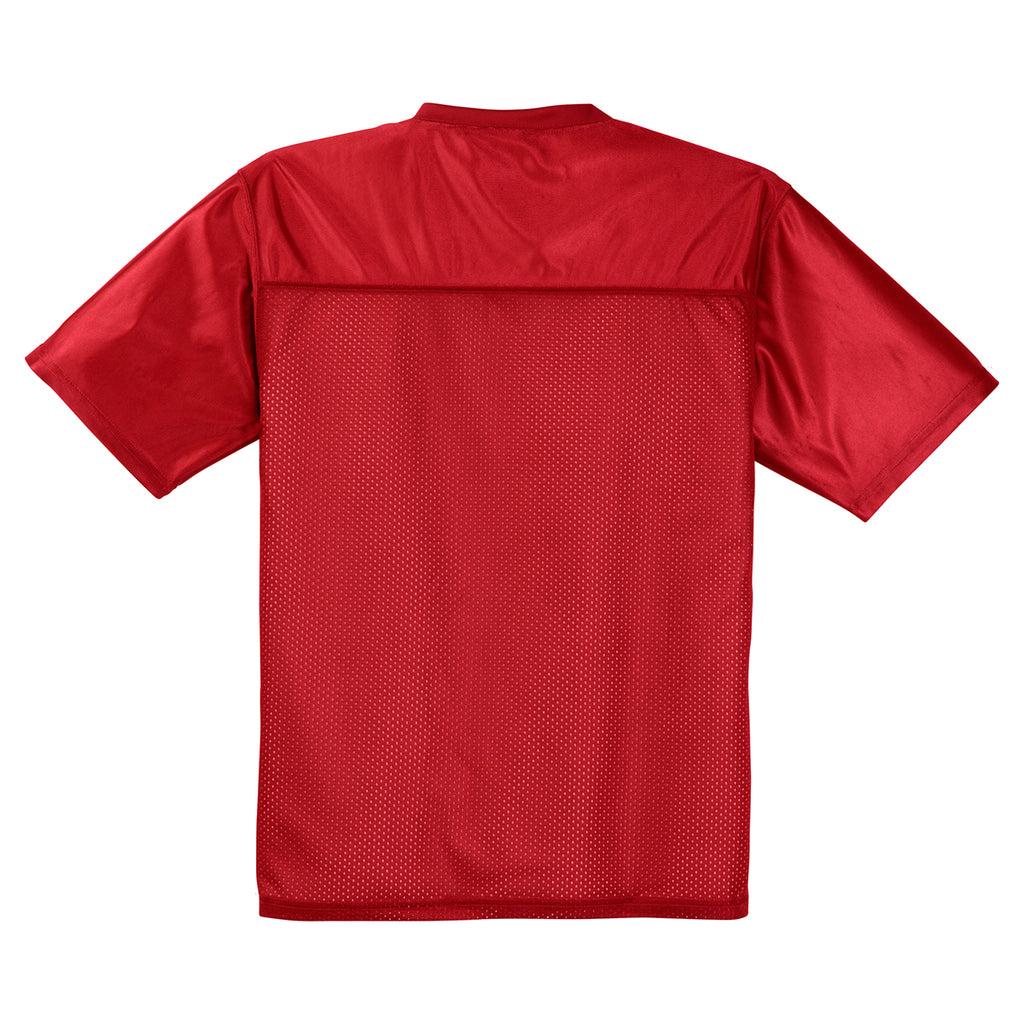 Sport-Tek Men's True Red PosiCharge Replica Jersey