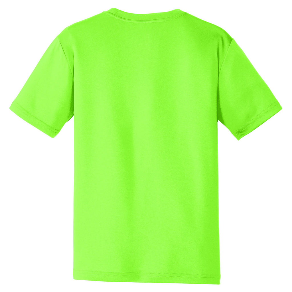 Sport-Tek Men's Neon Green PosiCharge Tough Tee