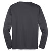Sport-Tek Men's Iron Grey Long Sleeve PosiCharge Competitor Tee