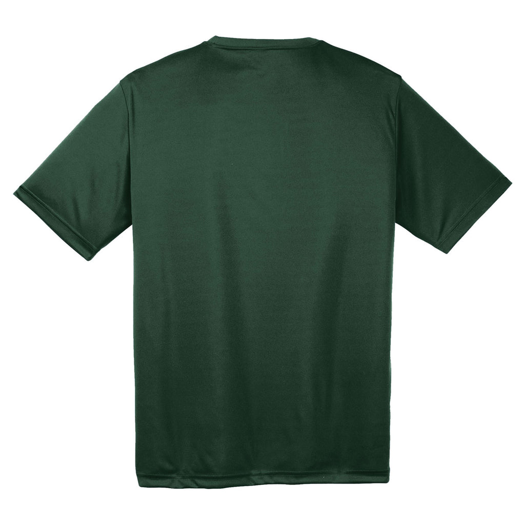 Sport-Tek Men's Forest Green PosiCharge Competitor Tee