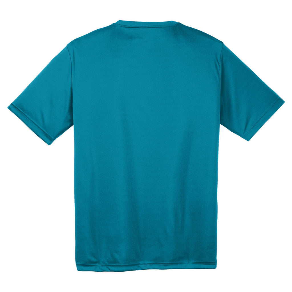 Sport-Tek Men's Tropic Blue PosiCharge Competitor Tee