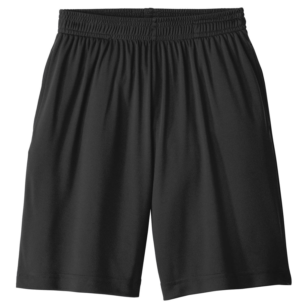 Sport Tek Men S Black Posicharge Competitor Pocketed Short You'll receive email and feed alerts when new items arrive. sport tek men s black posicharge competitor pocketed short