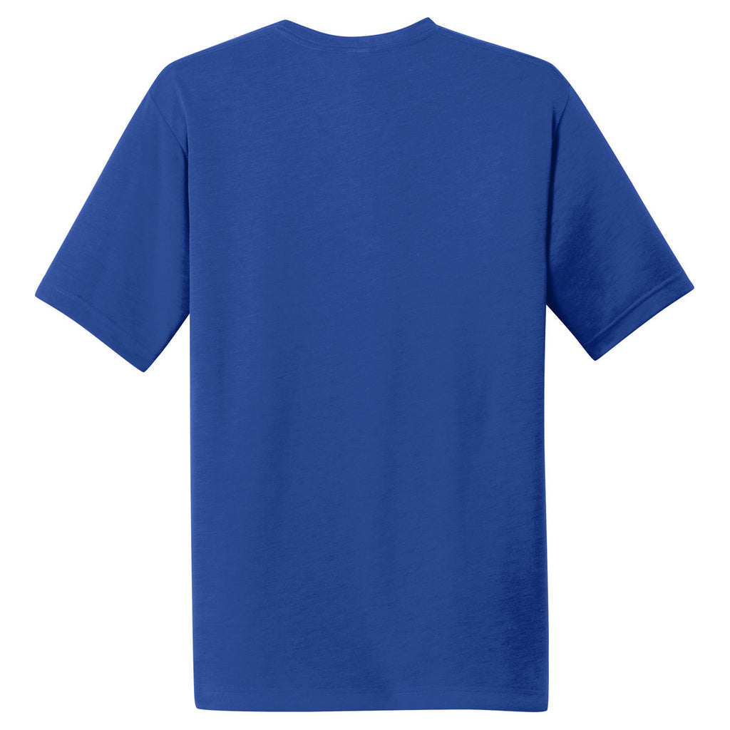 Sport-Tek Men's True Royal PosiCharge Competitor Cotton Touch Tee