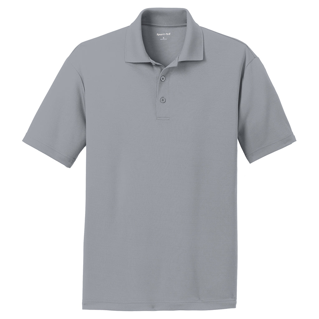 Sport Tek Men S Silver Posicharge Racermesh Polo These polo shirts come in a variety of styles, including contrast stitch, active textured, tricolor, colorblock and many other engaging styles. sport tek men s silver posicharge racermesh polo