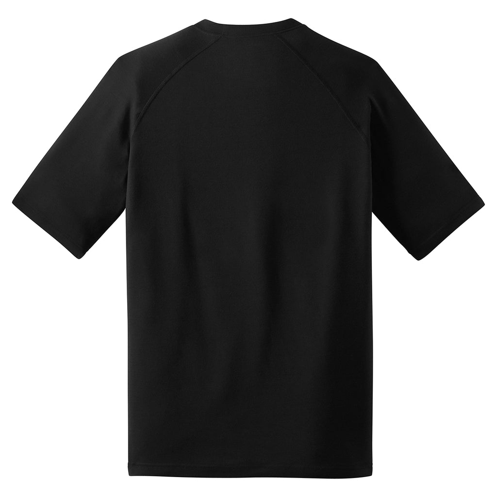 Sport-Tek Men's Black Ultimate Performance Crew