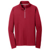 sport-tek-red-textured-pullover