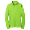 sport-tek-light-green-textured-pullover
