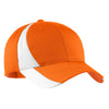stc11-sport-tek-orange-colorblock-cap