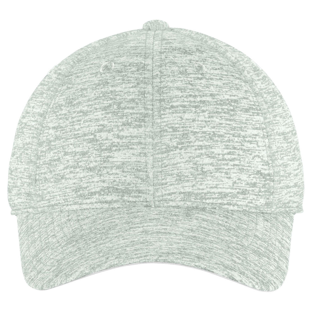 Sport-Tek Silver Electric PosiCharge Electric Heather Cap