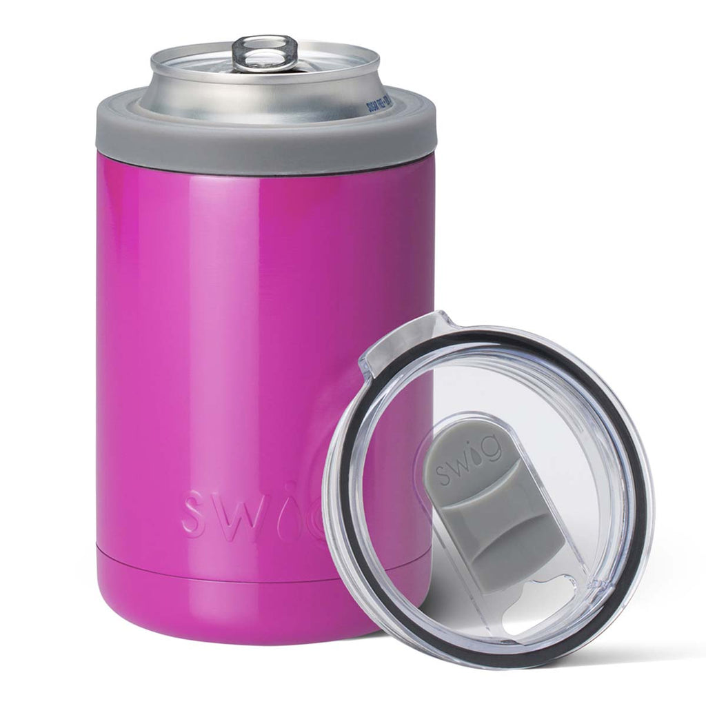 Swig Berry 12 oz Combo Can Cooler