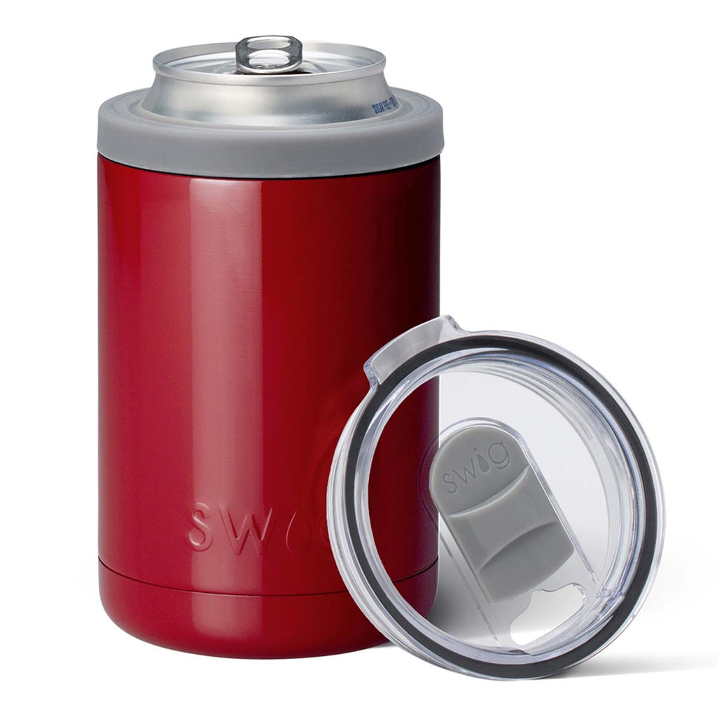 Swig Crimson 12 oz Combo Can Cooler