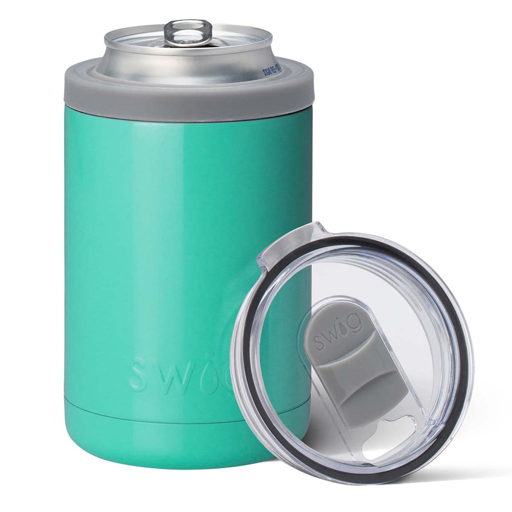 Swig Turquoise 12 oz Combo Can Cooler