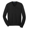 port-authority-black-v-neck-sweater