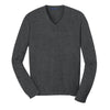 port-authority-charcoal-v-neck-sweater