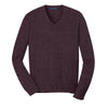 port-authority-burgundy-v-neck-sweater