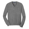 port-authority-grey-v-neck-sweater