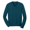 port-authority-blue-v-neck-sweater