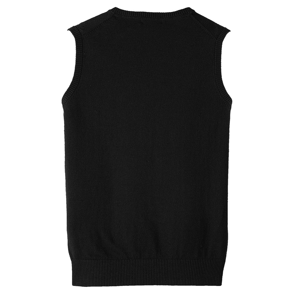 Port Authority Men's Black Sweater Vest