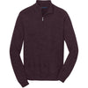 port-authority-burgundy-zip-sweater