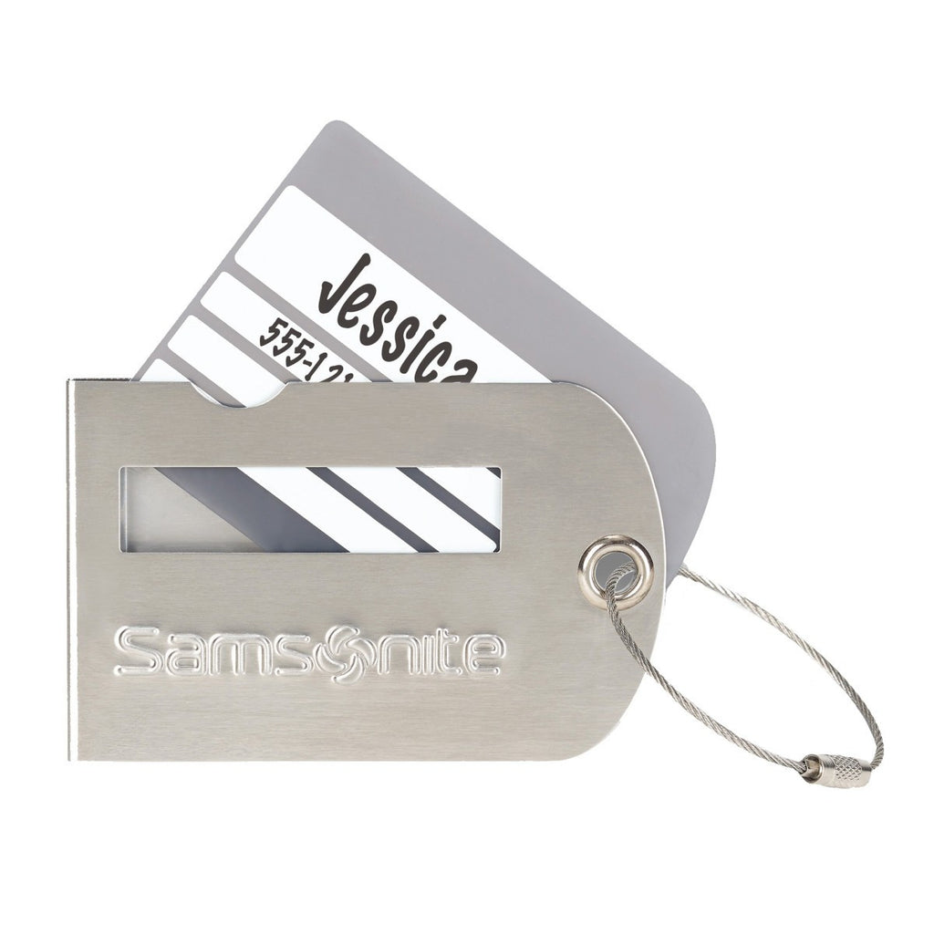 Samsonite Grey Luggage Tag