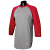 champion-grey-red-tee