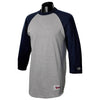 champion-grey-navy-tee