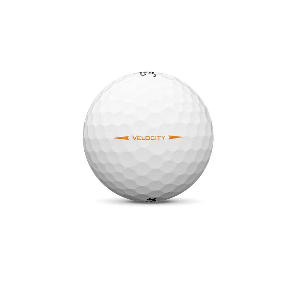 Titleist Visi-White Velocity Double Digits Golf Balls with Custom Logo