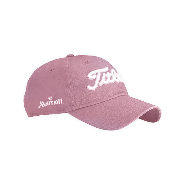 Titleist Pink Unstructured Chino Twill Cap 9209a8688f2