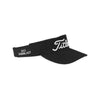 titleist-black-chino-fabric-visor
