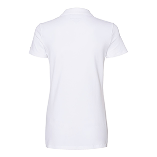 Tommy Hilfiger Women's Bright White Classic Fit Ivy Pique Sport Shirt