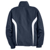 Sport-Tek Men's True Navy/ White Tall Colorblock Raglan Jacket