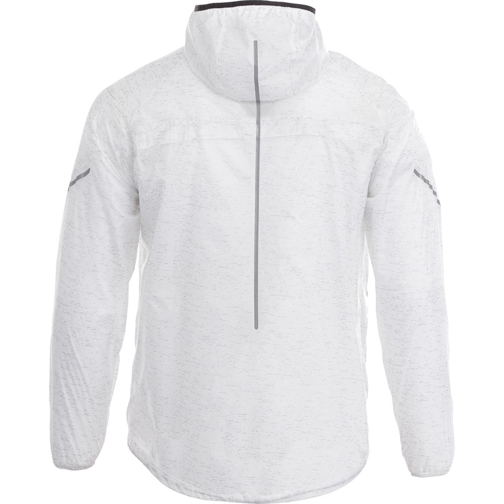 Elevate Men's White Signal Packable Jacket